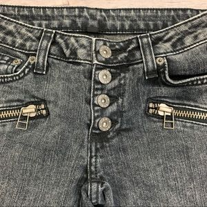 Carmar Jeans - New LF Carmar Button Up Zipper Jeans in Acid Wash
